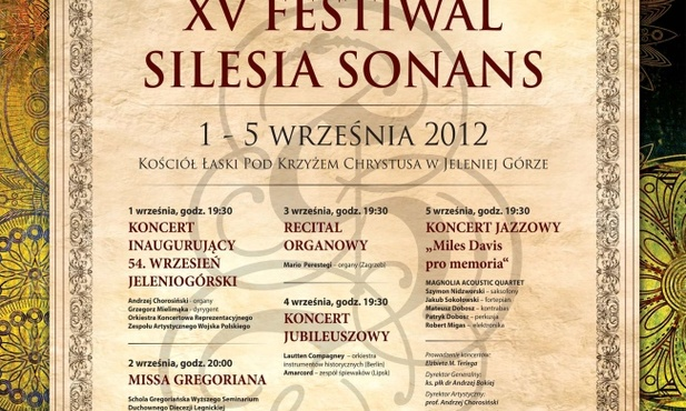 Program XV Silesia Sonans
