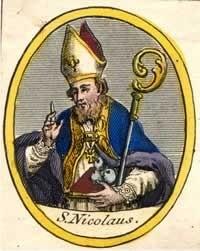 Znalezione obrazy dla zapytania święty mikołaj biskup