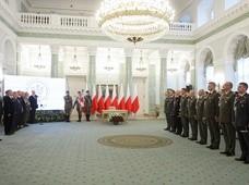 Prezydent Andrzej Duda wręczył dziewięć awansów generalskich